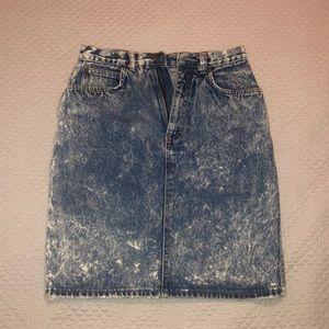 High waist jean skirt size 4